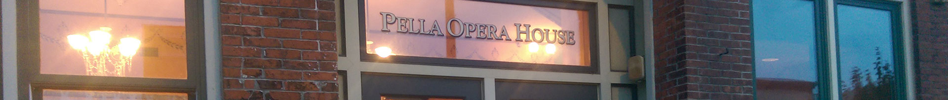 Pella Opera House